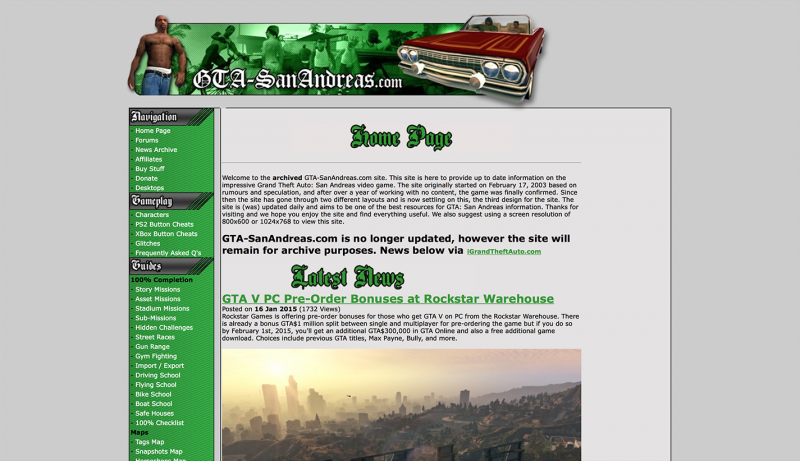 GTA-SanAndreas.com: Home Page